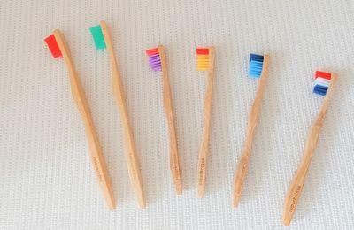 Les brosses à dents qui donne le sourire à la planète