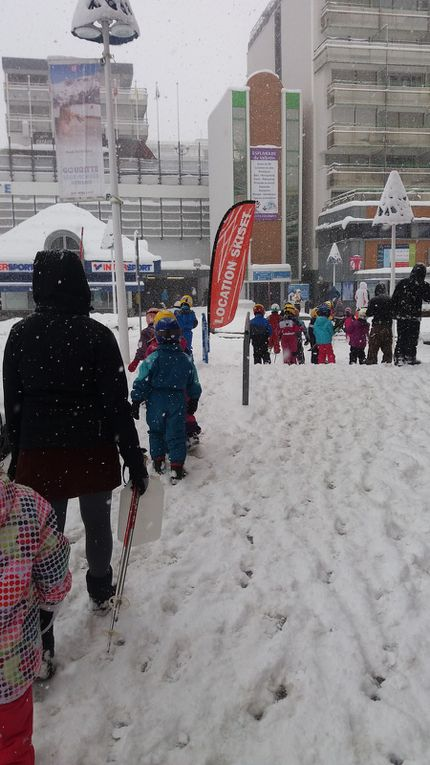 Jeudi 1er février...Neige, neige, neige...