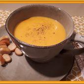 Soupe de Potimarron aux épices - Oh, la gourmande..