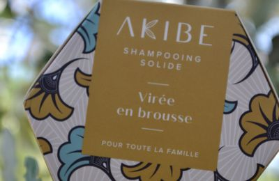 Le shampooing solide AKIBE made in Africa