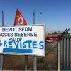 Le port de Saint Nazaire bloqué ce matin (25/5)