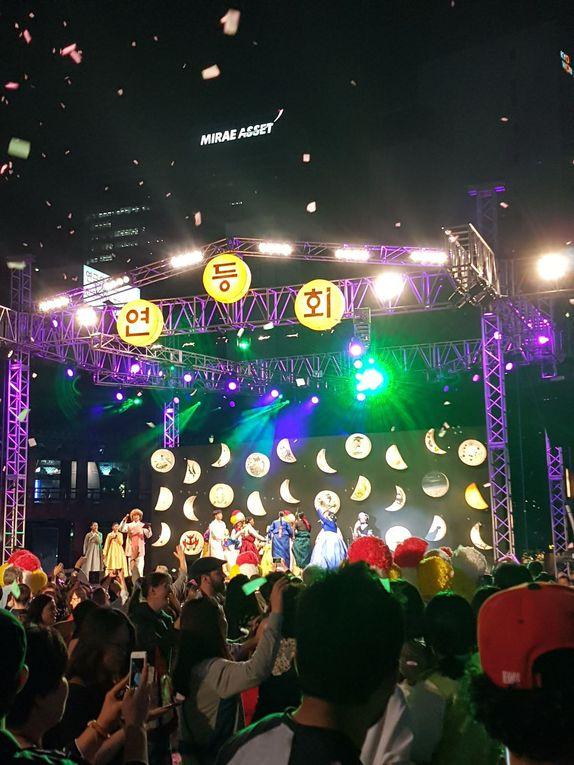 Festival des Lanternes de Lotus, en Corée