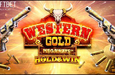 Lancement de la nouvelle machine à sous en ligne Western Gold Megaways sur Casino777.ch