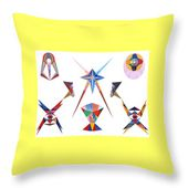 Veneration Throw Pillow for Sale by Michael Bellon