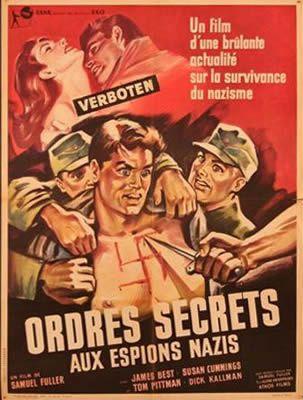 Ordres secrets aux espions nazis de Samuel Fuller avec James Best - Susan Cummings