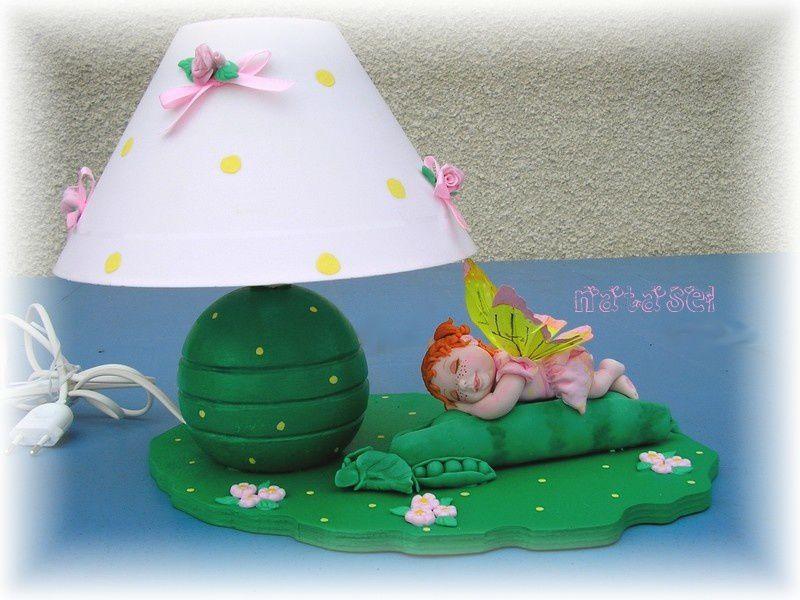 Album - lampes et pendules décorées
