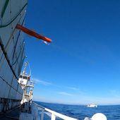 """Succès du second tir de qualification du missile franco-britannique """"anti-navire léger"""""""