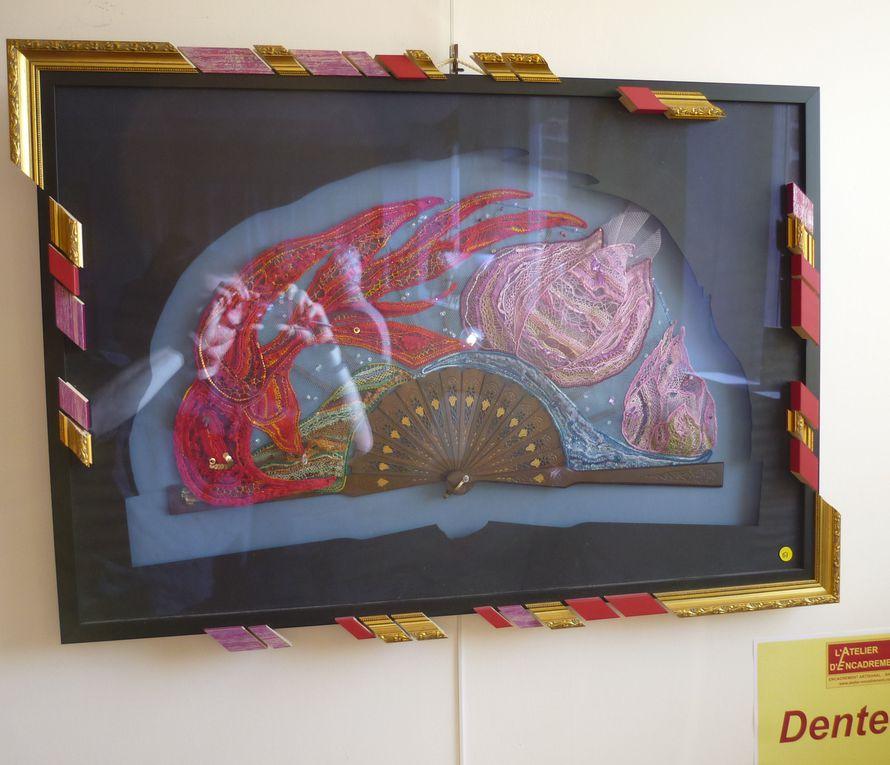 """Les photos du concours """"les 12 travaux d'aiguilles"""" organisé par l'atelier hors cadre! en septembre et octobre 2011, ainsi qu'en janvier et février 2014."""