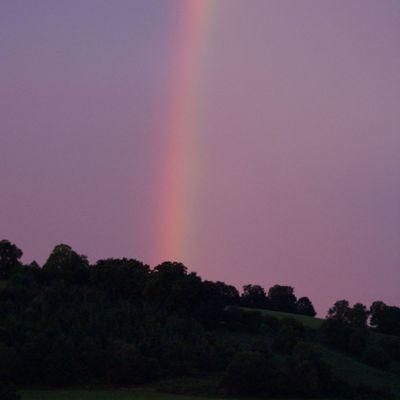 Arc en ciel à Bordes (Freix-Anglards)