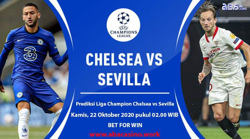 Bocoran Liga Champion Chelsea vs Sevilla Kamis 22 Oktober 2020