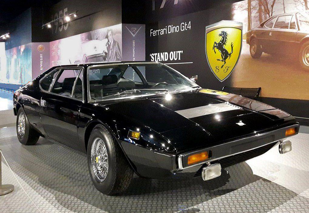 La Dino Ferrari 308 GT4 achetée d'occasion en octobre 1976 pour 20 583 $.  Ce sera la dernière voiture que le King s'offrira, puisqu'il décèdera moins d'un an après.