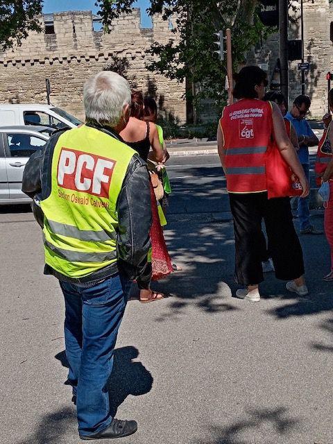 22 juin: la question sociale à la préfecture d'Avignon