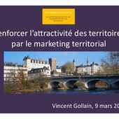 Le marketing territorial et l'attractivité des territoires