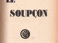 """J.-H. Rosny Jeune """"Le Soupçon"""" (Nouvelle Revue Critique - 1927)"""