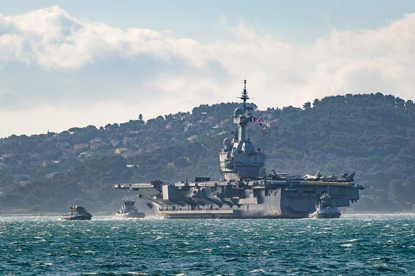 Otan : Le porte-avions Charles de Gaulle a participé à l'exercice Dynamic Manta avec des navires turcs