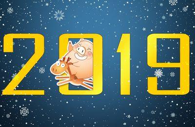 Bonne Année 2019 - Horoscope Chinois - Année du Cochon - Wallpaper - Free