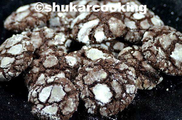 Craquelés au chocolat recette de Martha Stewart