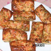 Bouchées poireaux et saumon fumé - Le blog de kekeli