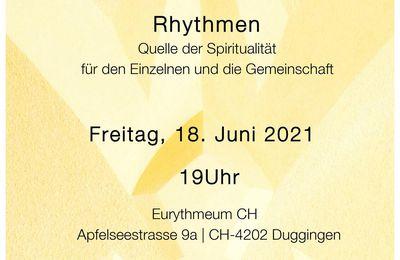 Eurythmie, La méditation de la Pierre de fondation - Les rythmes