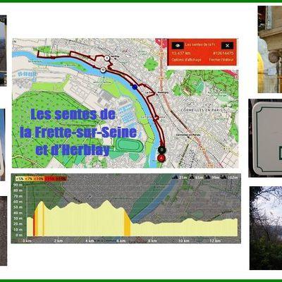 Les sentes de La Frette-sur-Seine et d'Herblay