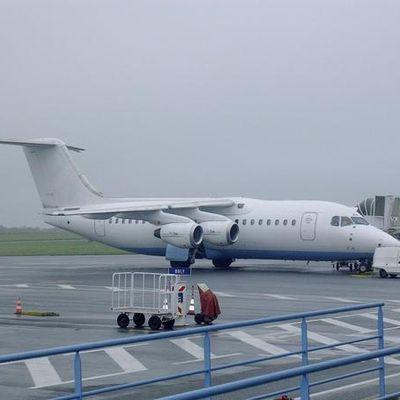FlyBe à Brest.