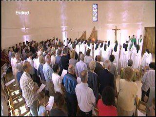 Messe du 11 septembre 2011 au Carmel de la Paix (Mazille, Saône et Loire)