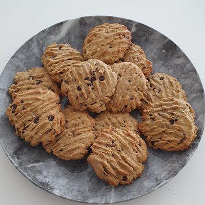 Cookies au choco-noisettes sans gluten