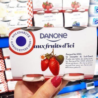 Danone ramène sa fraise pour aider les producteurs du Sud-Ouest