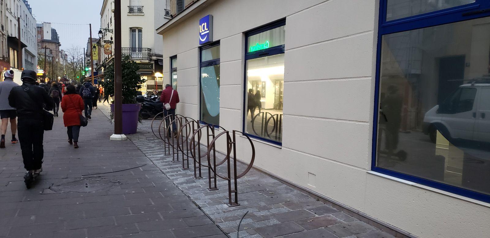les arceaux vélos sur Colombes ...ce n'est que le début