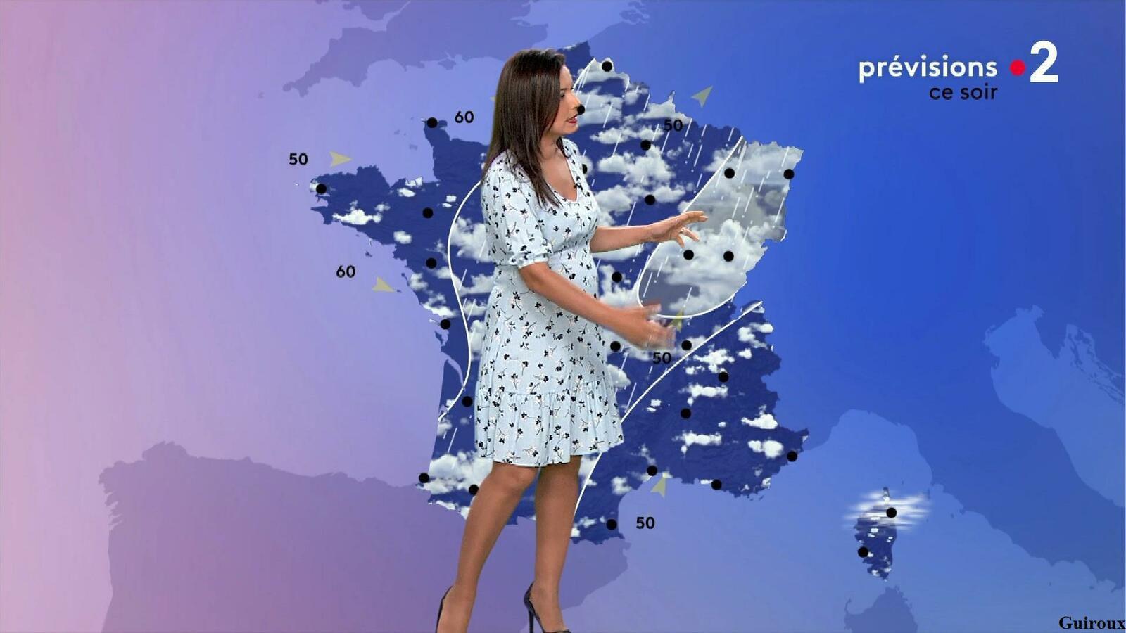 Anaïs Baydemir 27/07/2021 Journaux météo du soir
