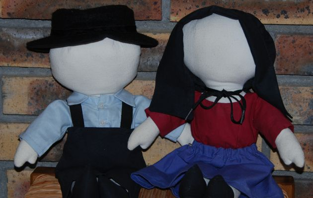 Les poupées Amish / The Amish dolls