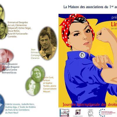 Lire en 1er célèbre la Journée de la Femme le 14 mars 2017 à l'hôtel Normandy
