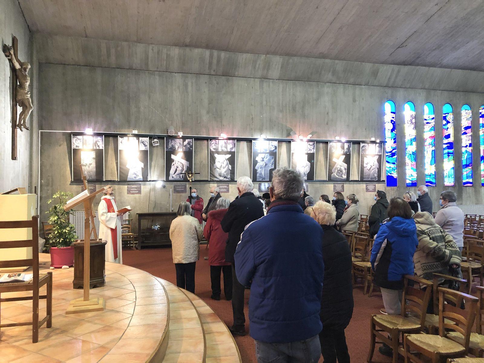 Chemin de croix, conférence du Père Thierry-François et Messe de Saint Joseph