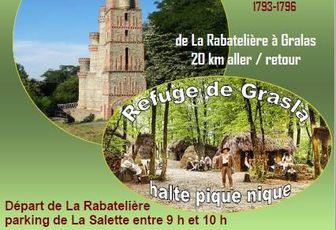 Rando de La Rabatelière à Gralas (85) dimanche 23 septembre 2018