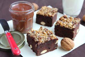 Carrés au Chocolat Noir Amandes & Noix