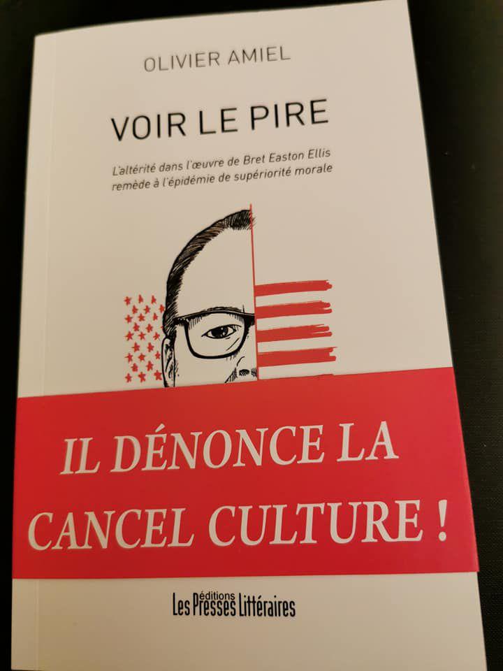 """Livre/""""Dictature des minorités"""",""""Cancel culture"""": """"Voir le pire"""" avec Bret Easton Ellis et Olivier Amiel ! par Nicolas Caudeville"""