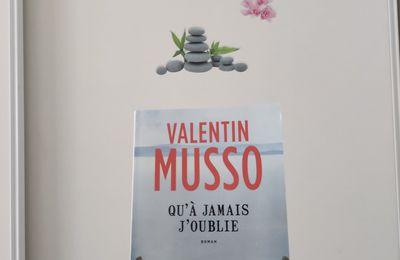 Qu'à jamais j'oublie de Valentin Musso