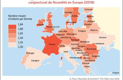 La France n'est plus le second pays le plus peuplé d'Europe !