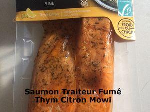 Saumon Traiteur Fumé Thym Citron Mowi (Jury Grand Prix Cuisine Actuelle 2021)