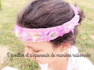 Activité : Fabriquer une couronne de Fleurs