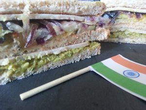 Le Club-Sandwich Indien
