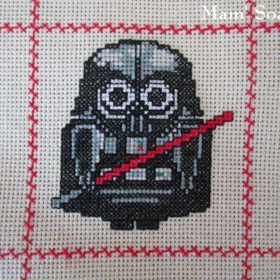 Plaid Chouette brodée 73 :  Dark Vador de Star Wars