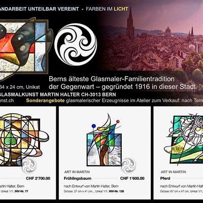 Bern: Glasmalerei finden Sie im Atelier glasmalkunst.ch in CH-3013 Bern