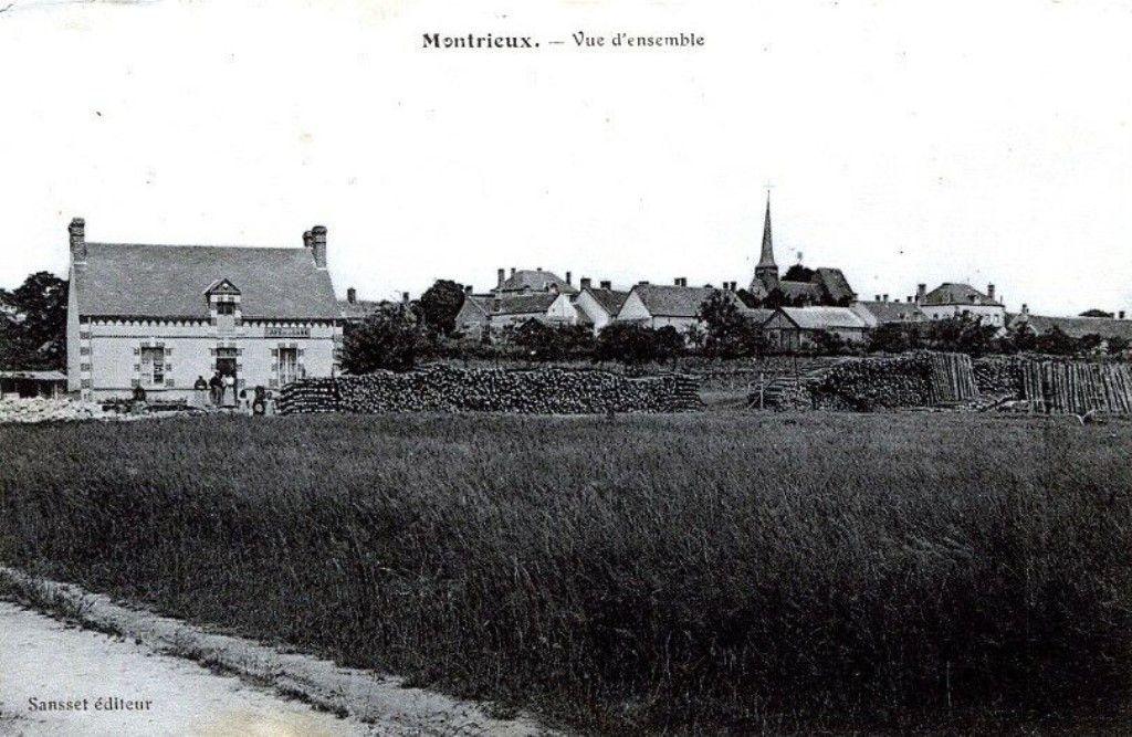 Vues d'Ensemble en 1900.