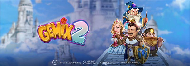 machine à sous vidéo en ligne Gemix 2 développeur Play'n Go
