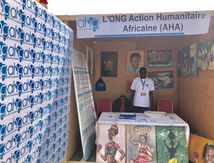 Tchad : L'ONG AHA installe son stand au Festival Dary