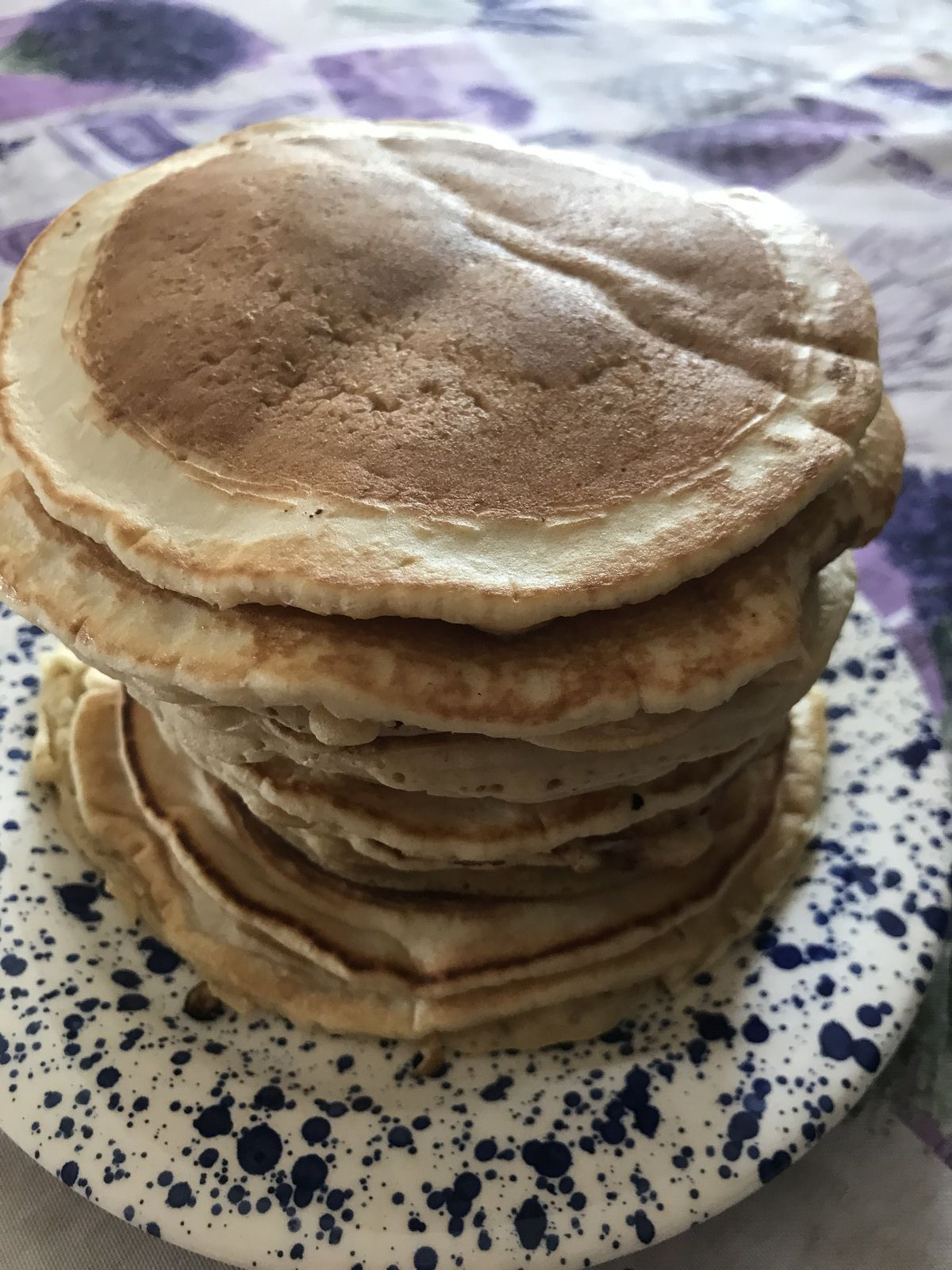 Pancakes au lait d amande et jus de clémentine