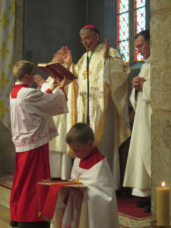 Visite pastorale. Messe dominicale du 26 novembre 2017 à Villars
