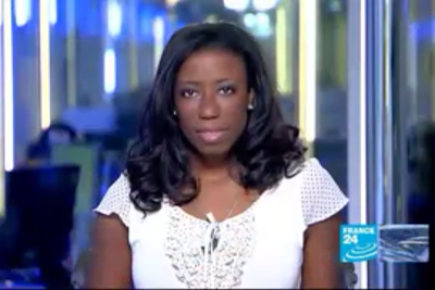 2012 02 02 @20H00 - GEORJA CALVIN-SMITH, FRANCE 24, THE NEWS