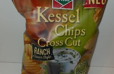 funny-frisch Kessel Chips Cross Cut Ranch Sauce